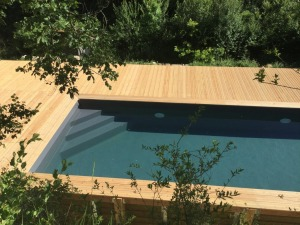 gallery/lot piscine 8x4 excalier d'angle